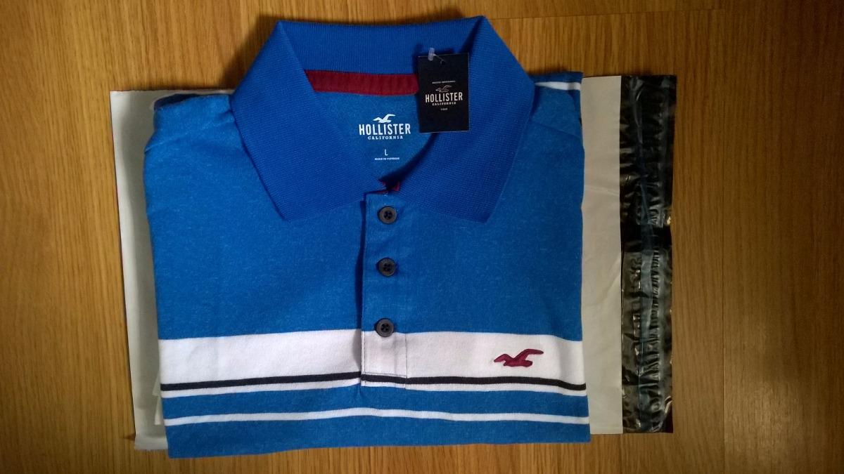 edd0458576c camisa polo importada da loja oficial hollister usa. Carregando zoom.