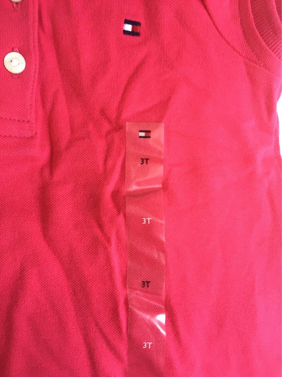 39aa1a6382 camisa polo infantil feminina original tommy hilfiger. Carregando zoom.