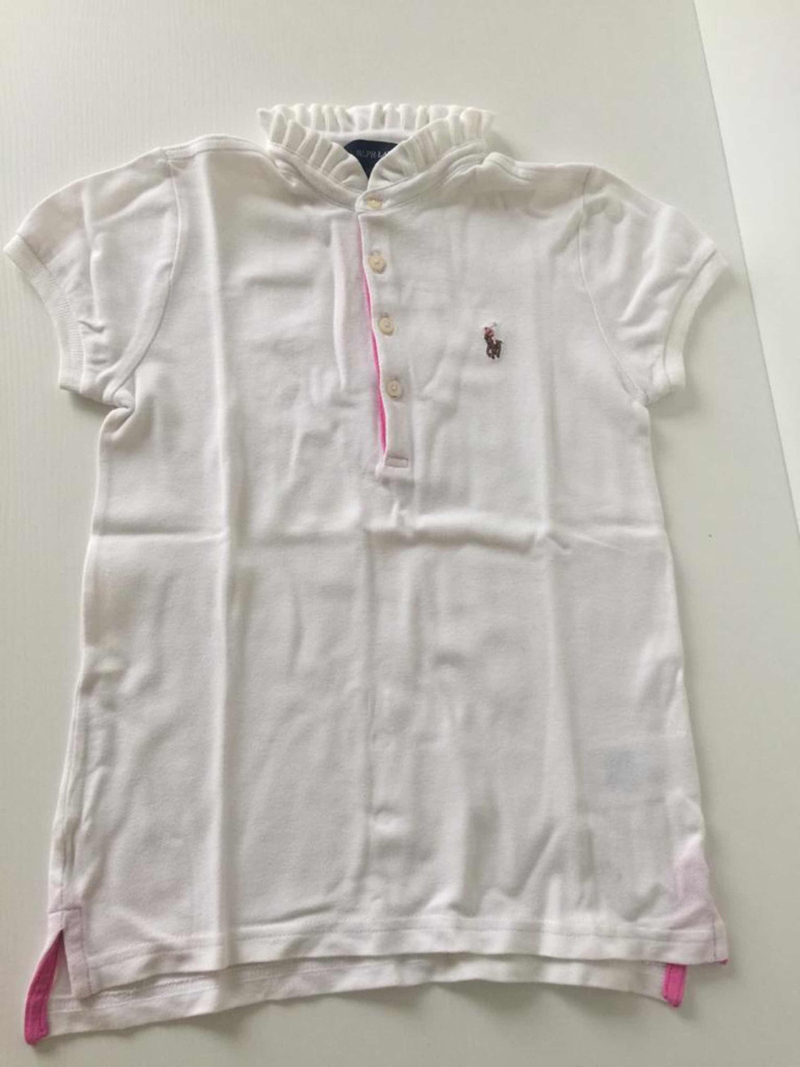2d40670c34 camisa polo infantil feminina polo ralph lauren original. Carregando zoom.