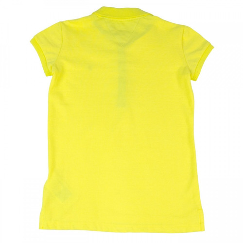 camisa polo infantil feminina tommy hilfiger manga curta