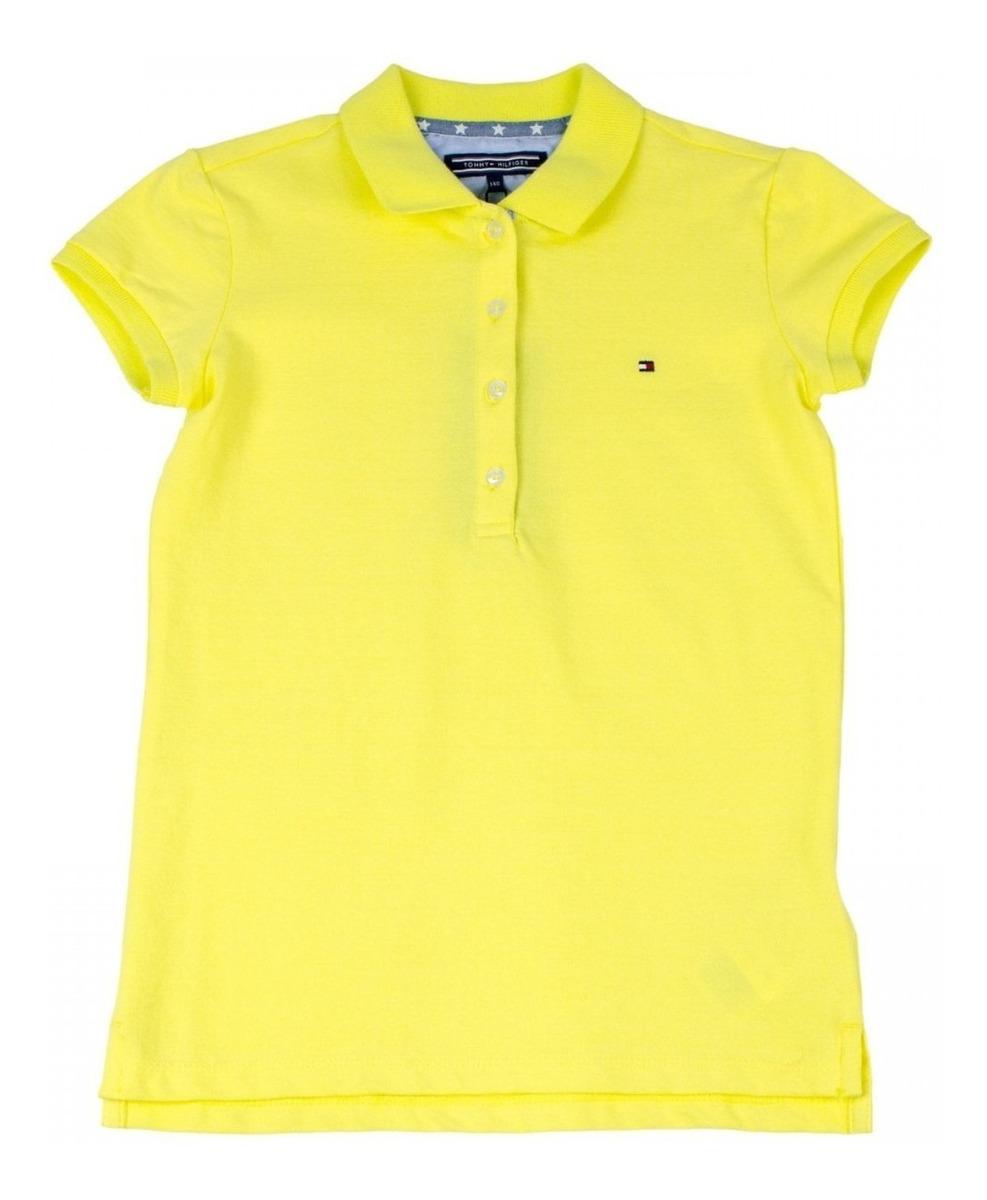 Camisa Polo Infantil Feminina Tommy Hilfiger Thkkg0p29345