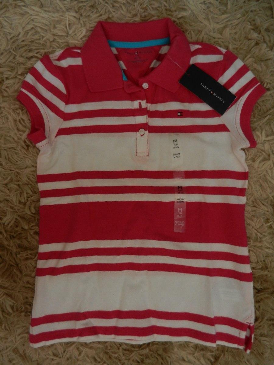 28feccb24d camisa polo infantil feminina tommy hilfiger - original. Carregando zoom.