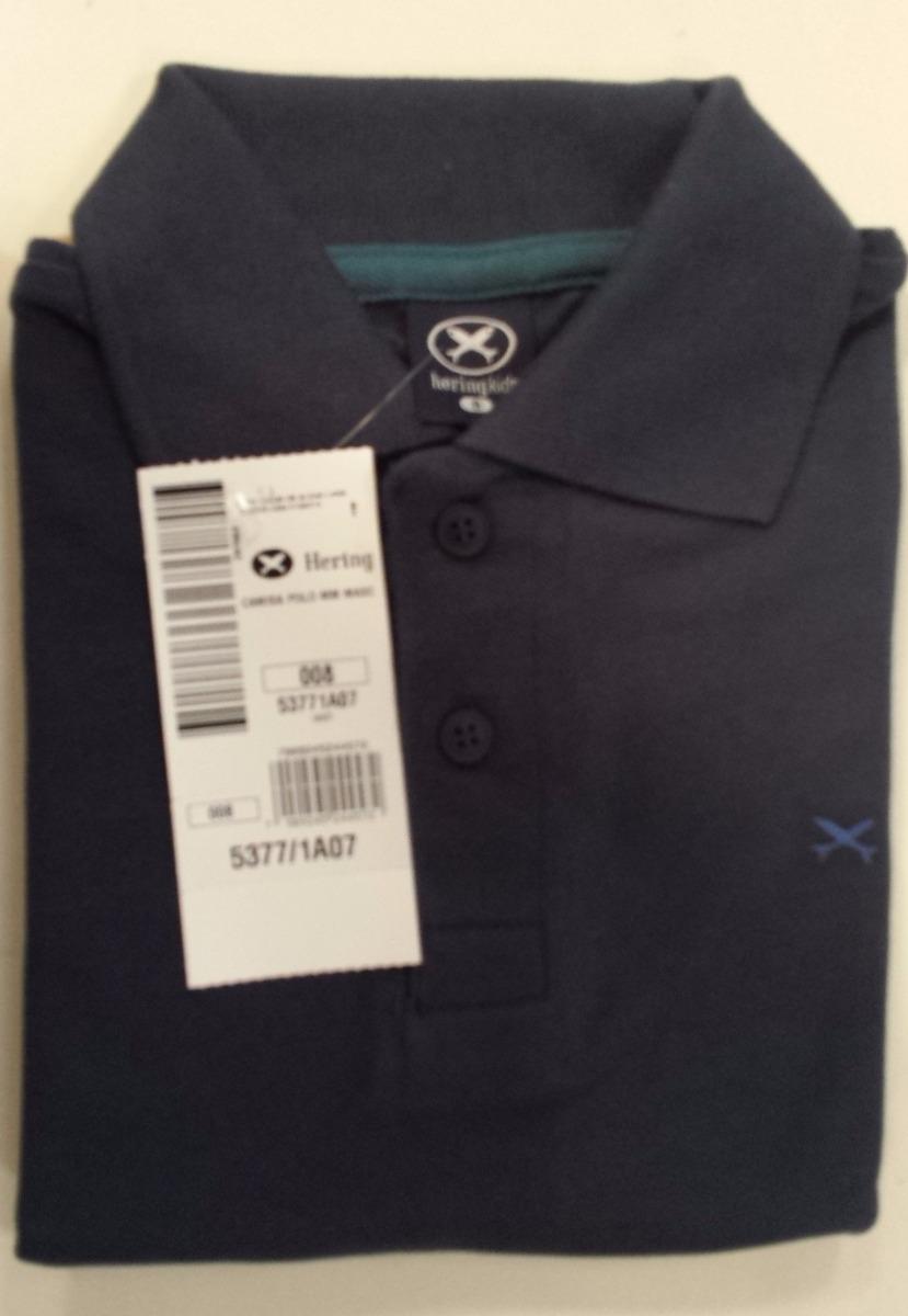 93cbc410e6 camisa polo infantil hering masculina - cód. 2118. Carregando zoom.