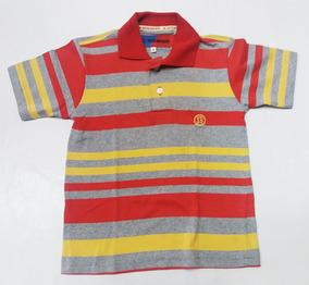 a389577ee5 Camisa Polo Amarela Infantil no Mercado Livre Brasil