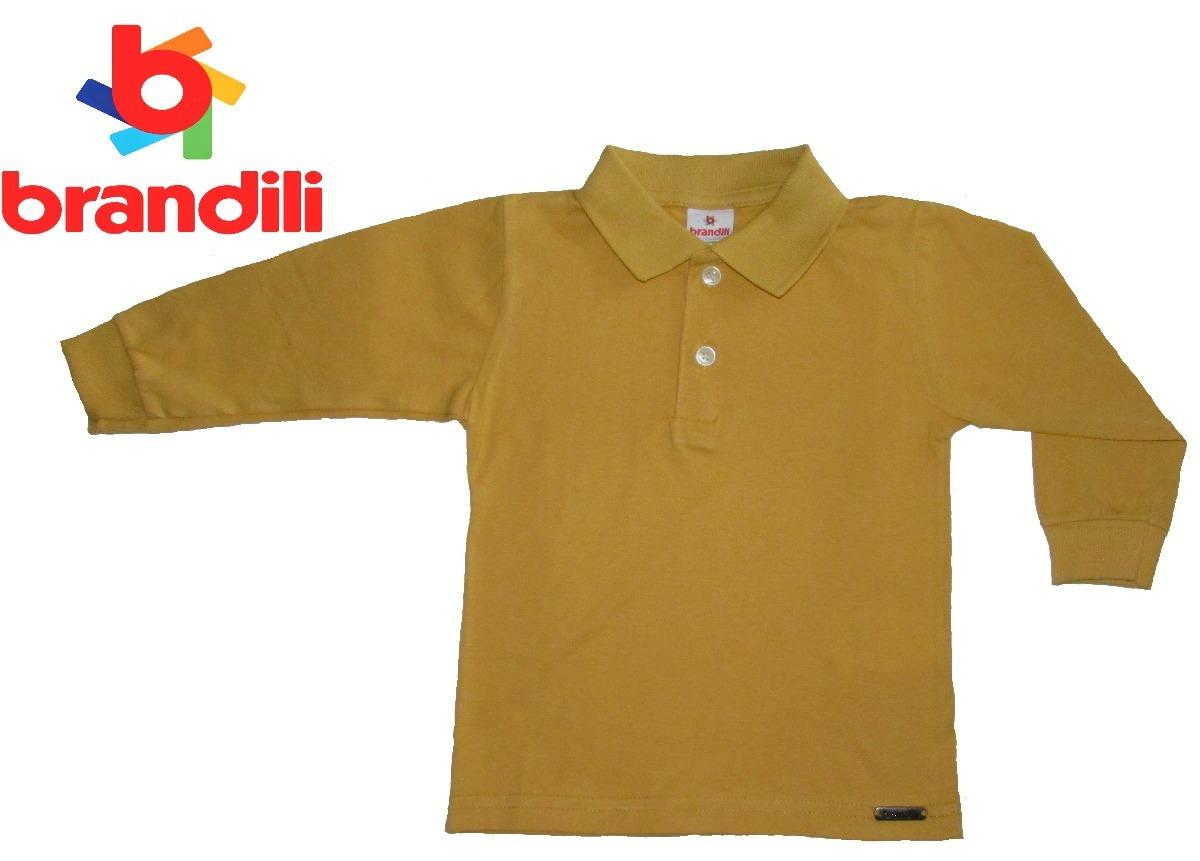 4942e79fed camisa polo infantil manga longa brandili 1 ano menino. Carregando zoom.