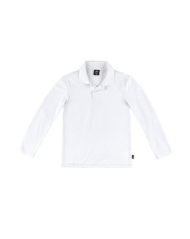 7a5731e44a1c9 Camisa Polo Infantil Masculina Manga Longa Hering Kids - R  56