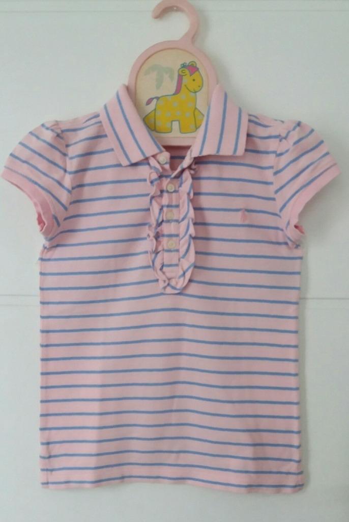 camisa polo infantil menina ralph lauren. Carregando zoom. 00fe13507e5