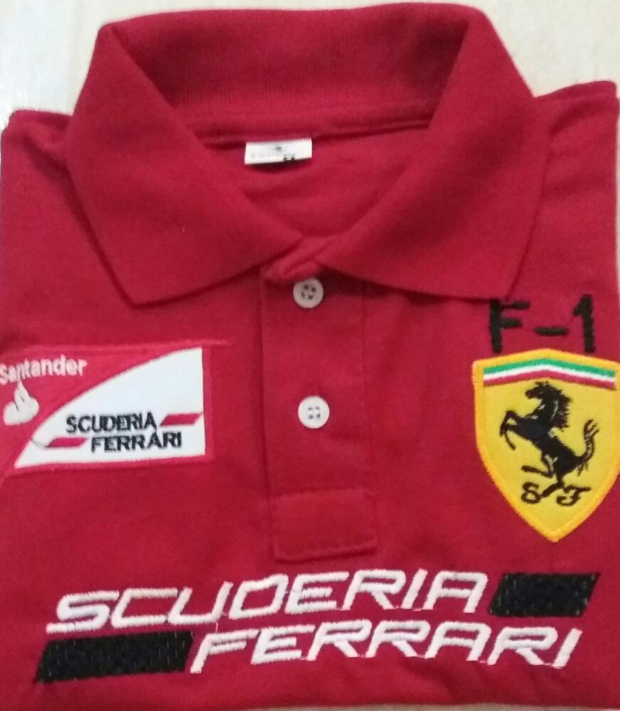 c15ca41331e94 ... camiseta ferrari f1 vermelho. Carregando zoom.