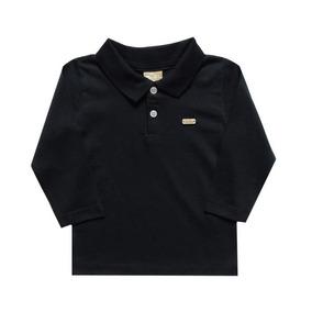 ec1b089fd8 Camisa Polo Infantil Manga Longa - Calçados