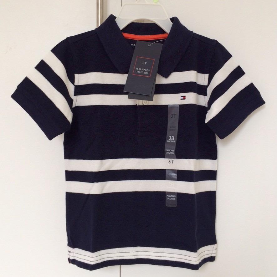 camisa polo infantil tommy hilfiger original menino shopshop. Carregando  zoom. ba1f044ad9e71