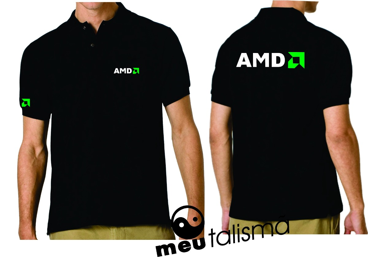 4a0b279ff Camisa Poló Informática Amd