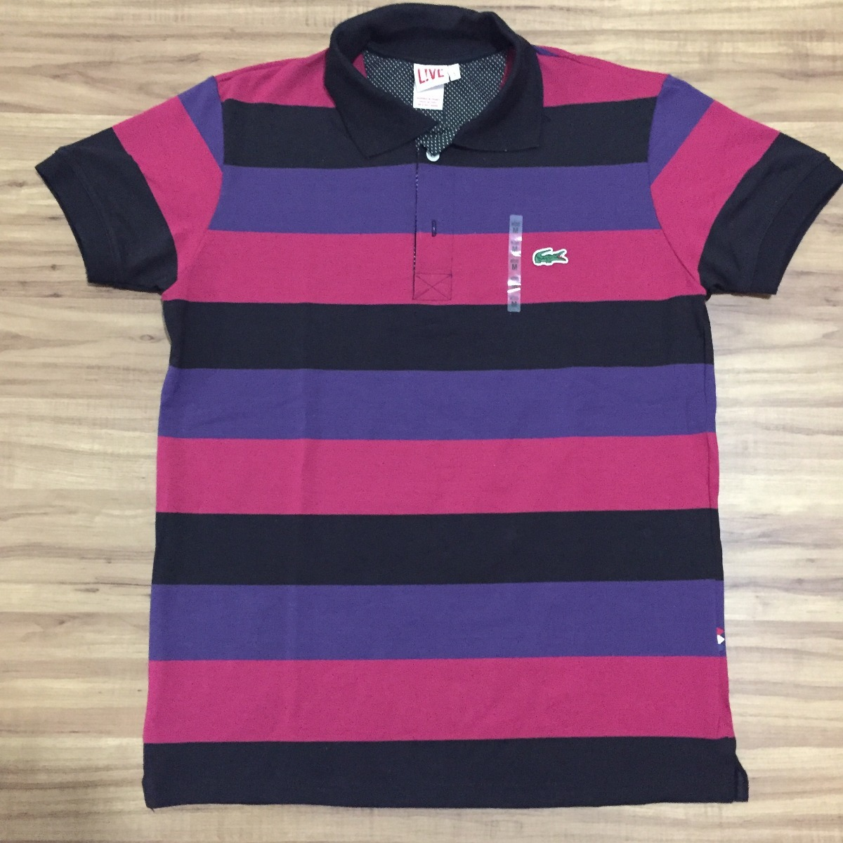 camisa polo lacoste 100% original made in peru lcst live. Carregando zoom. a5a383948fd2f