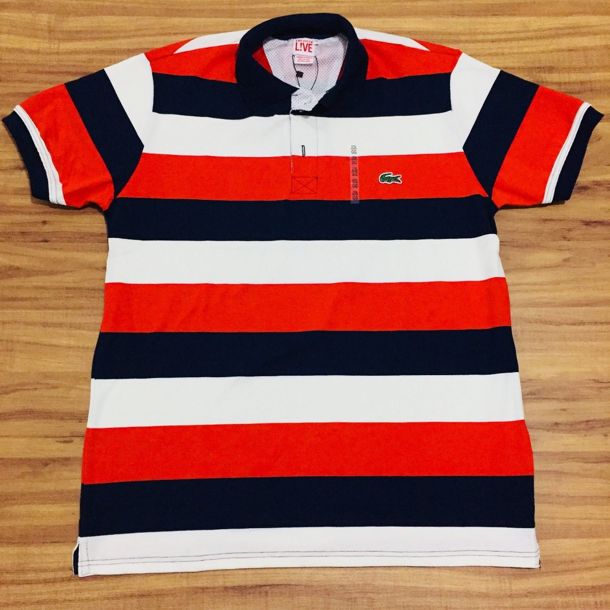 Camisa Polo Lacoste 100% Original Made In Peru Lcst Live - R  89,00 ... 86f78af8c8