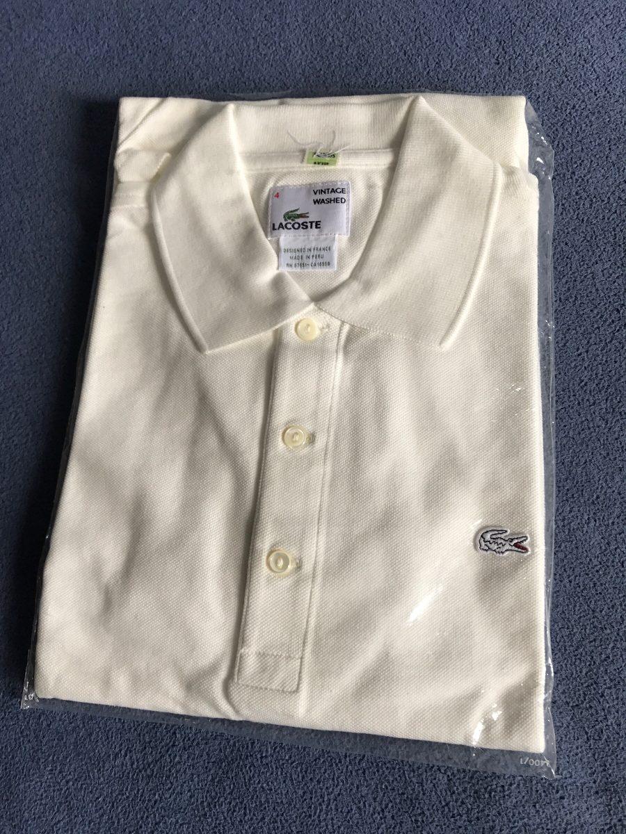 5096a358622 camisa polo lacoste 5 botões nova. Carregando zoom.