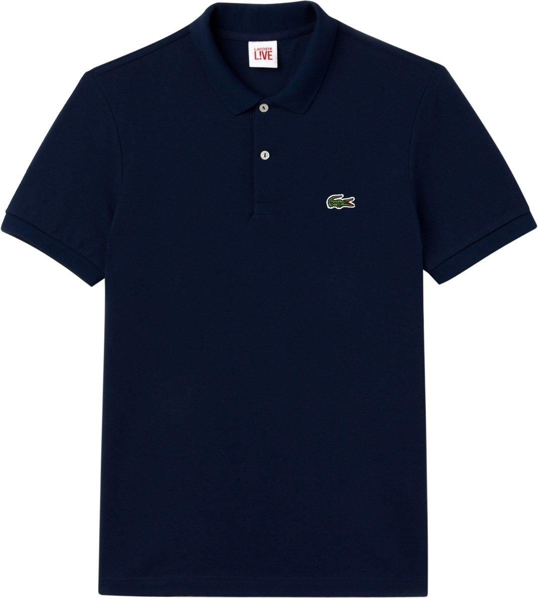 e729706f68bc0 camisa polo lacoste azul marinho originais masculino. Carregando zoom.