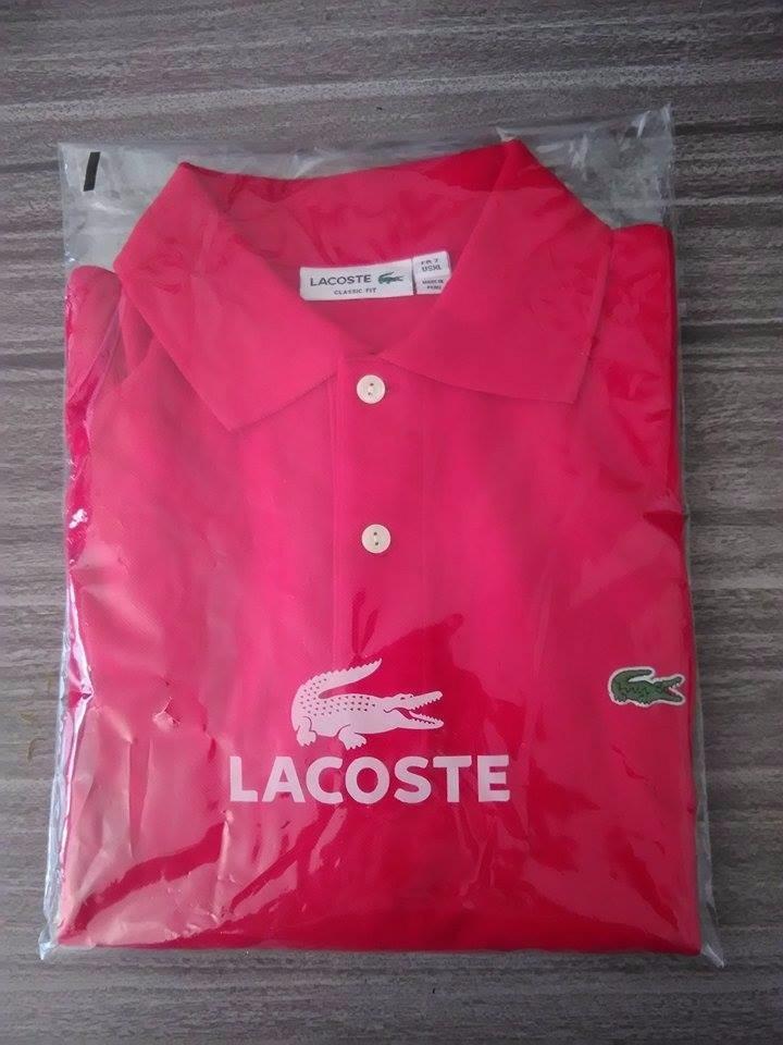 13f49df5896eb camisa polo lacoste basica original cotton pima promoção. Carregando zoom.