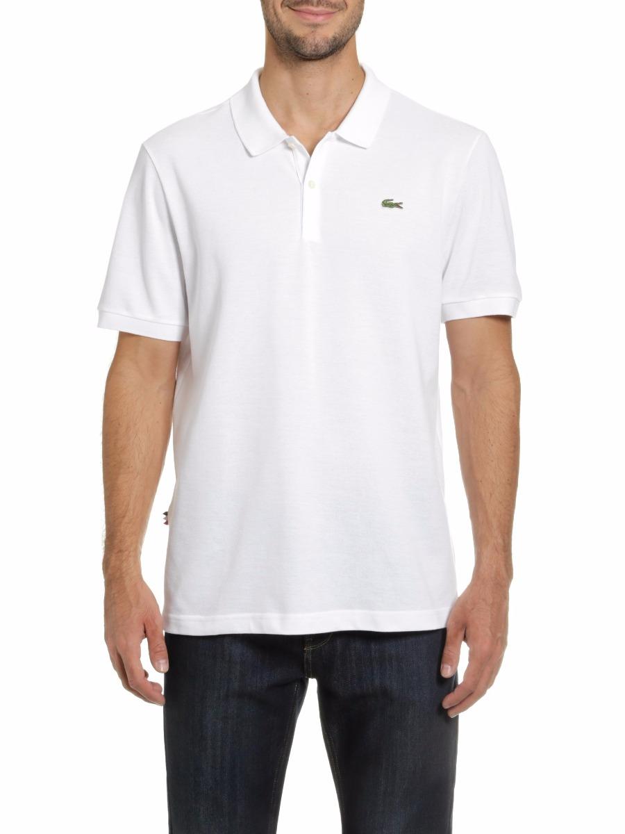 d6663643a9ee1 camisa polo lacoste branca masculina para reveillón original. Carregando  zoom.