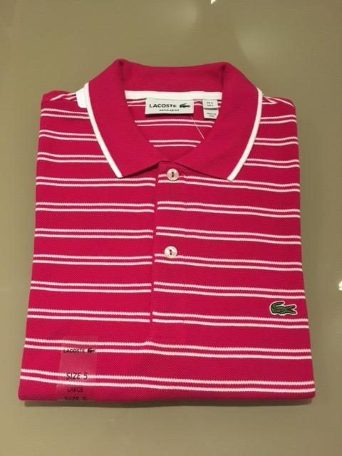 a0041bc4da68b Camisa Polo Lacoste - Classic Fit - Importada - Usa - R  269