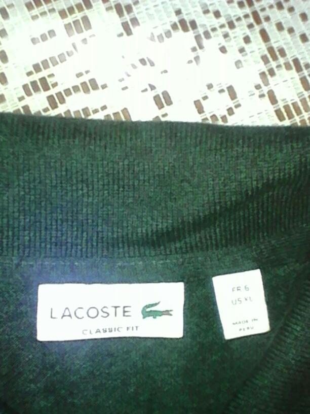 32691d20c922b camisa polo lacoste color verde fuerte, tela de calidad,. Cargando zoom.