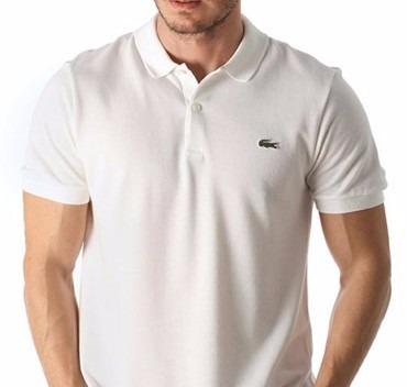 8c41f291eb4b2 Camisa Polo Lacoste Com Etiqueta-nova-branca - Realengo - R  45