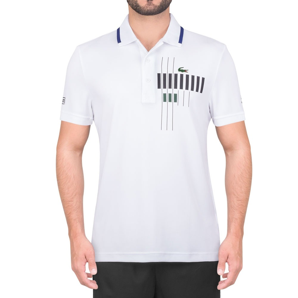 4b301dfd38f8f camisa polo lacoste fancy dh7971 tennis djoko branca. Carregando zoom.