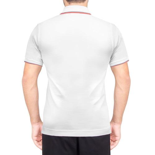 Camisa Polo Lacoste Fancy Tennis 1 Branca - R  179,90 em Mercado Livre 4f3ec98050