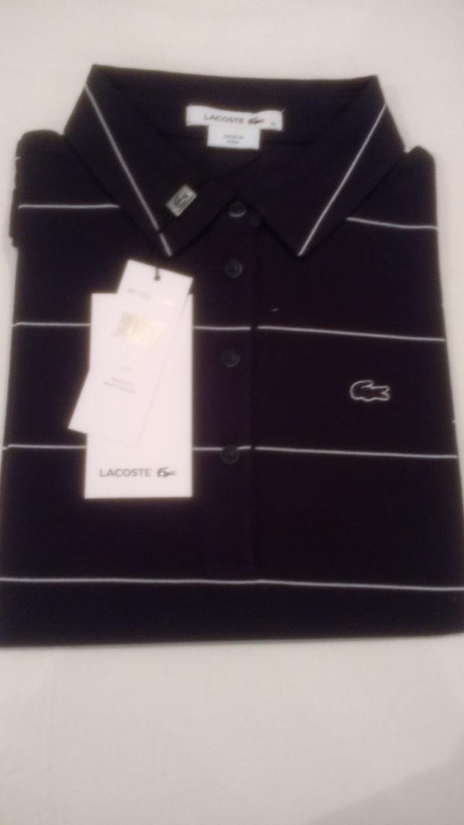 Camisa Polo Lacoste Feminina Com Listras - R  239,00 em Mercado Livre b50ea97ed1