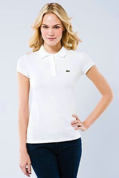 1b138a7d500 Camisa Polo Lacoste Feminina Orginal - R  149
