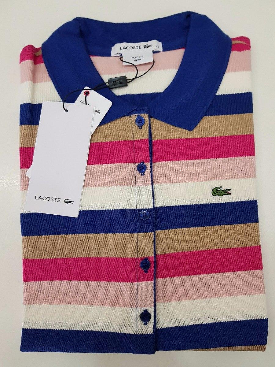 camisa polo lacoste feminina original c  nf - promoção. Carregando zoom. 11d94cdf8e