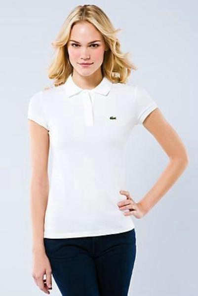 Camisa Polo Lacoste Feminina Original Importada - R  149,00 em ... 652873a354