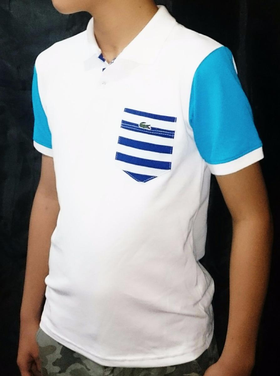 Camisa Polo Lacoste Infantil Original - Unidade - R  70,00 em ... 11a33e75fa