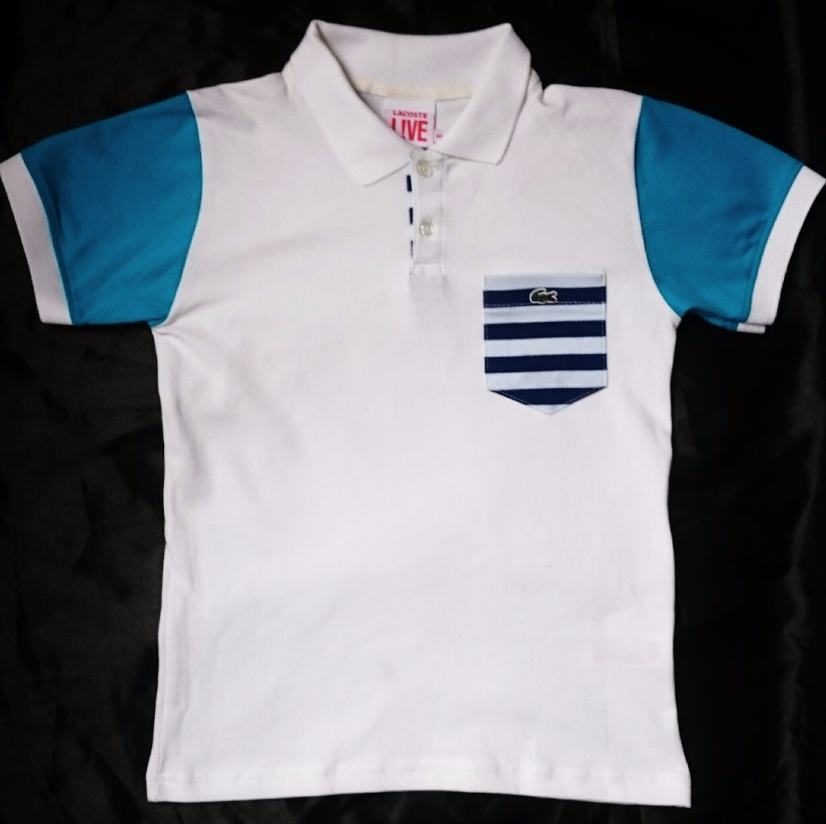 3f421b24e78 camisa polo lacoste infantil original - unidade. Carregando zoom.