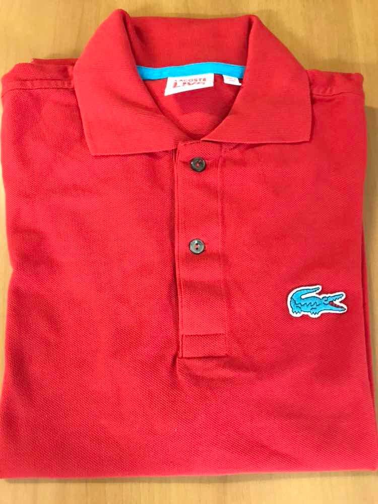 62ba5a389d064 Camisa Polo Lacoste Jacaré Big Masculina Tamanho G - R  140,00 em ...