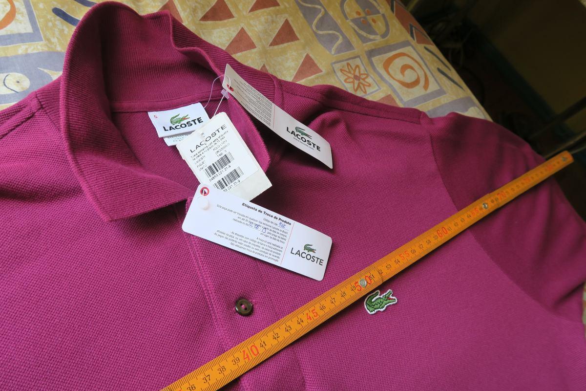 8c5c6c7b42c camisa polo lacoste lilás masculino. Carregando zoom.