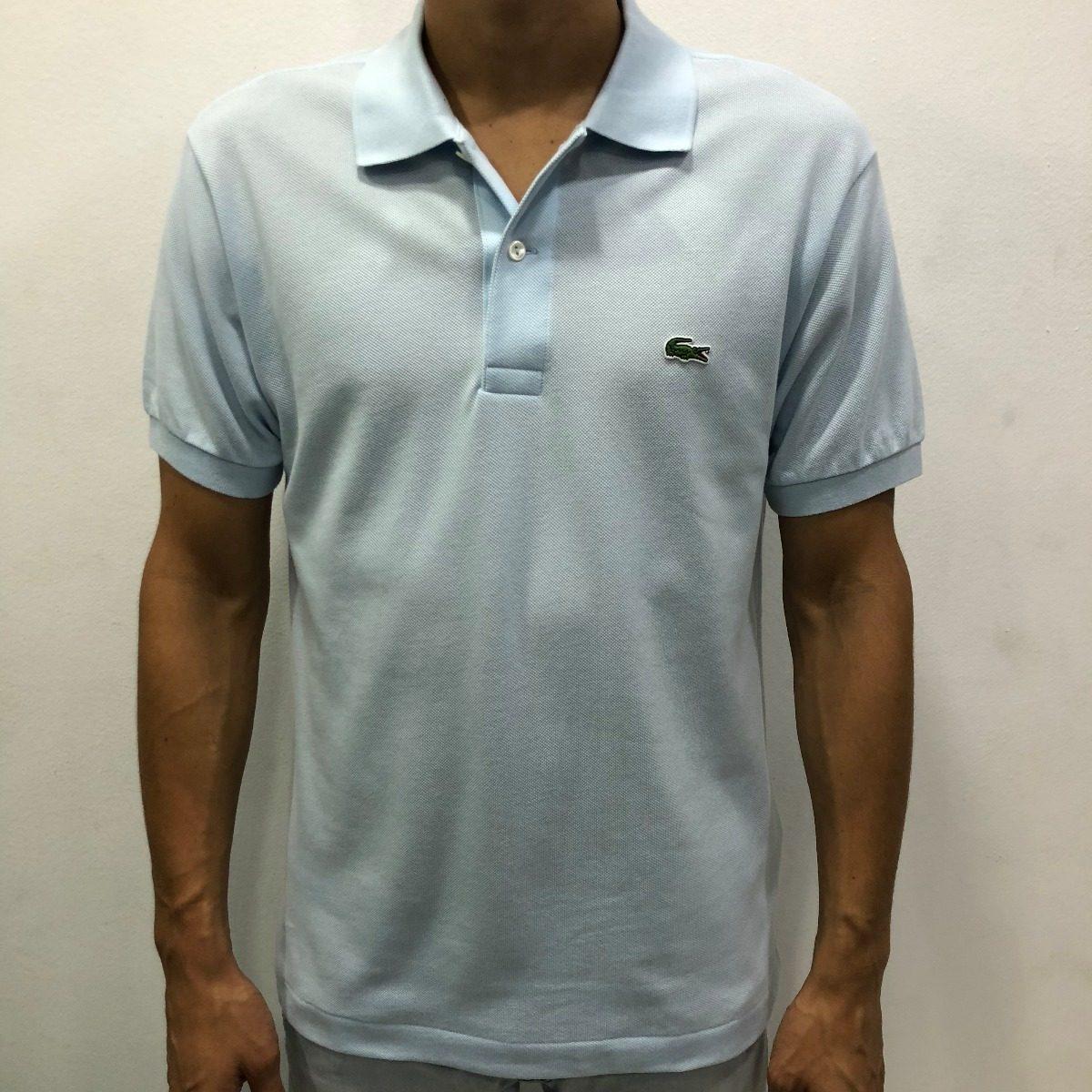 Camisa Polo Lacoste Lisa Azul Cod.045 - R  279,00 em Mercado Livre e427cad670