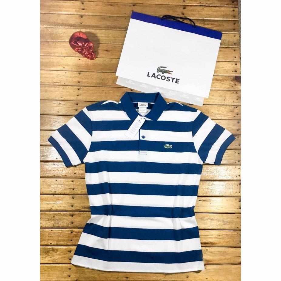 Camisa Polo Lacoste Listrada Original 2017 R 139 00 Em Mercado Livre