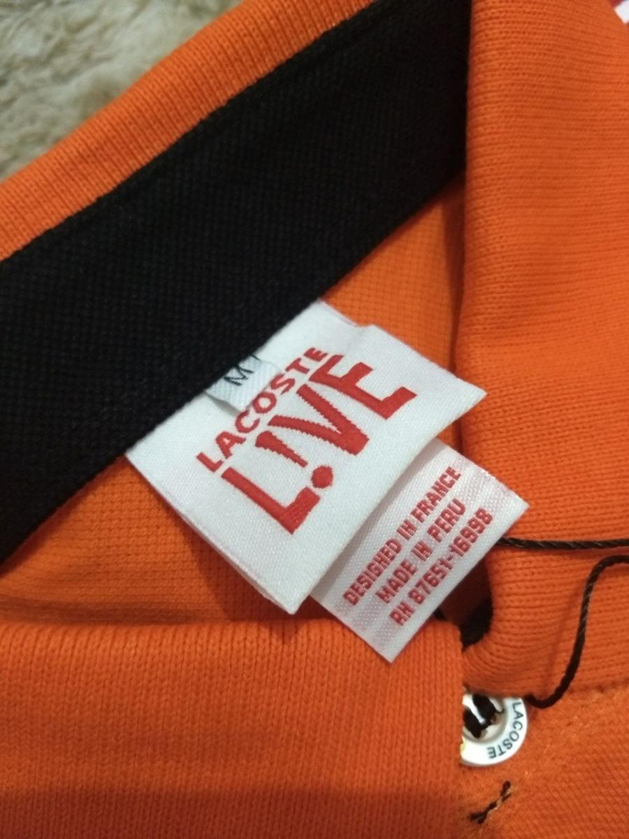 1828975d1b08d camisa polo lacoste live com botões original com etiquetas. Carregando zoom.
