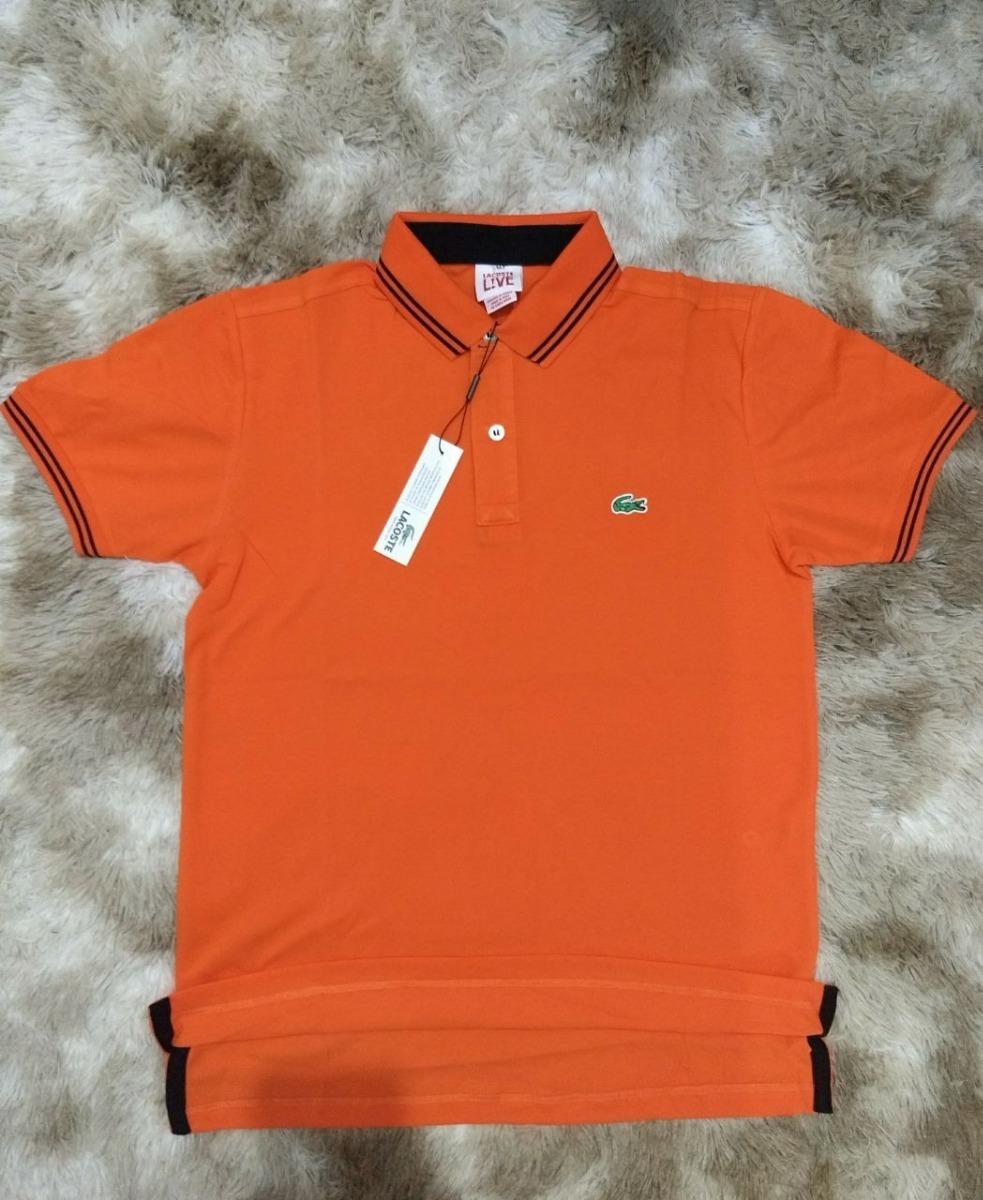 31a64b37bdf3a camisa polo lacoste live com botões original com etiquetas. Carregando zoom.