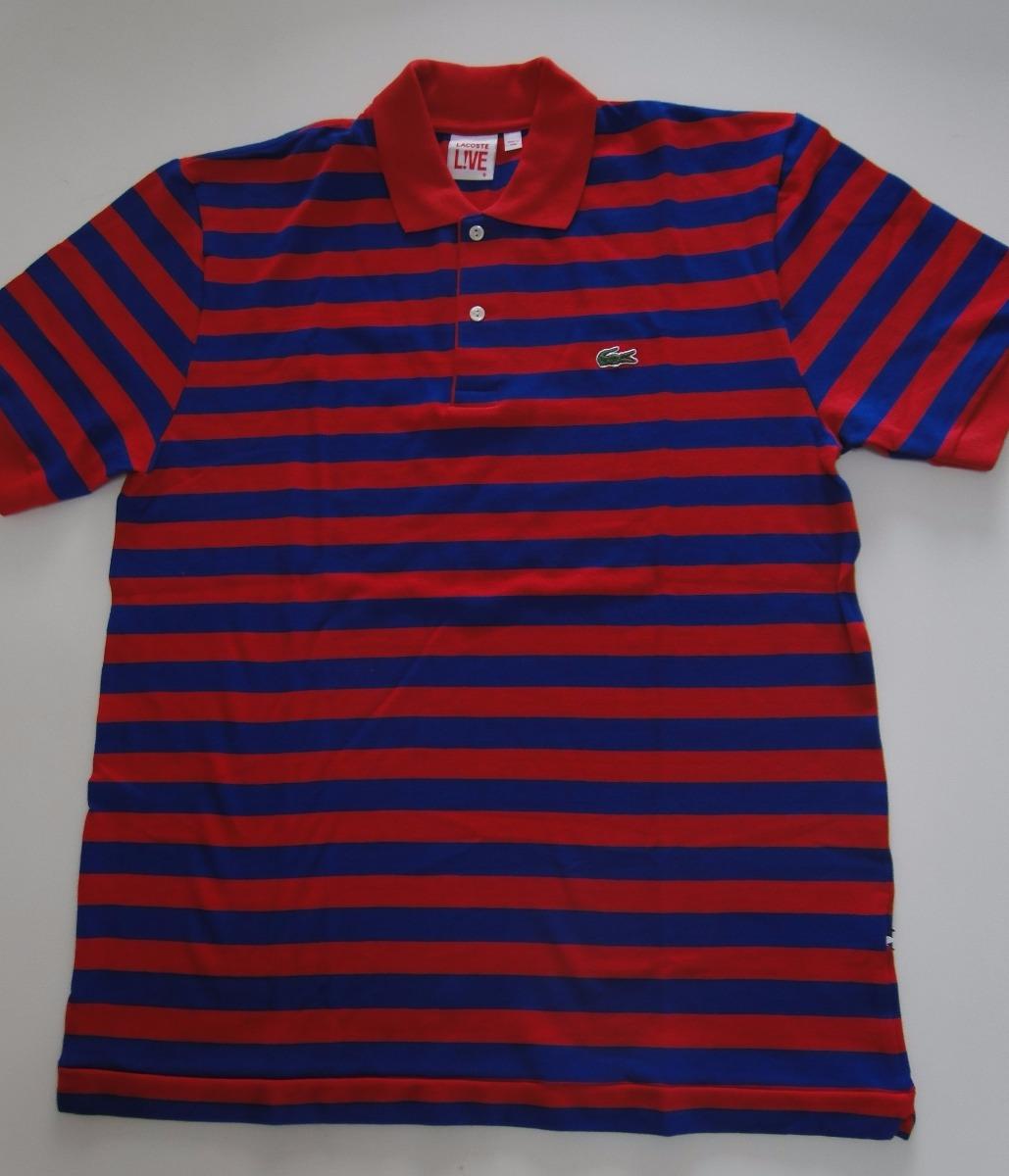 e66494948a Camisa Polo Lacoste Live   Gold Masculina - R  130