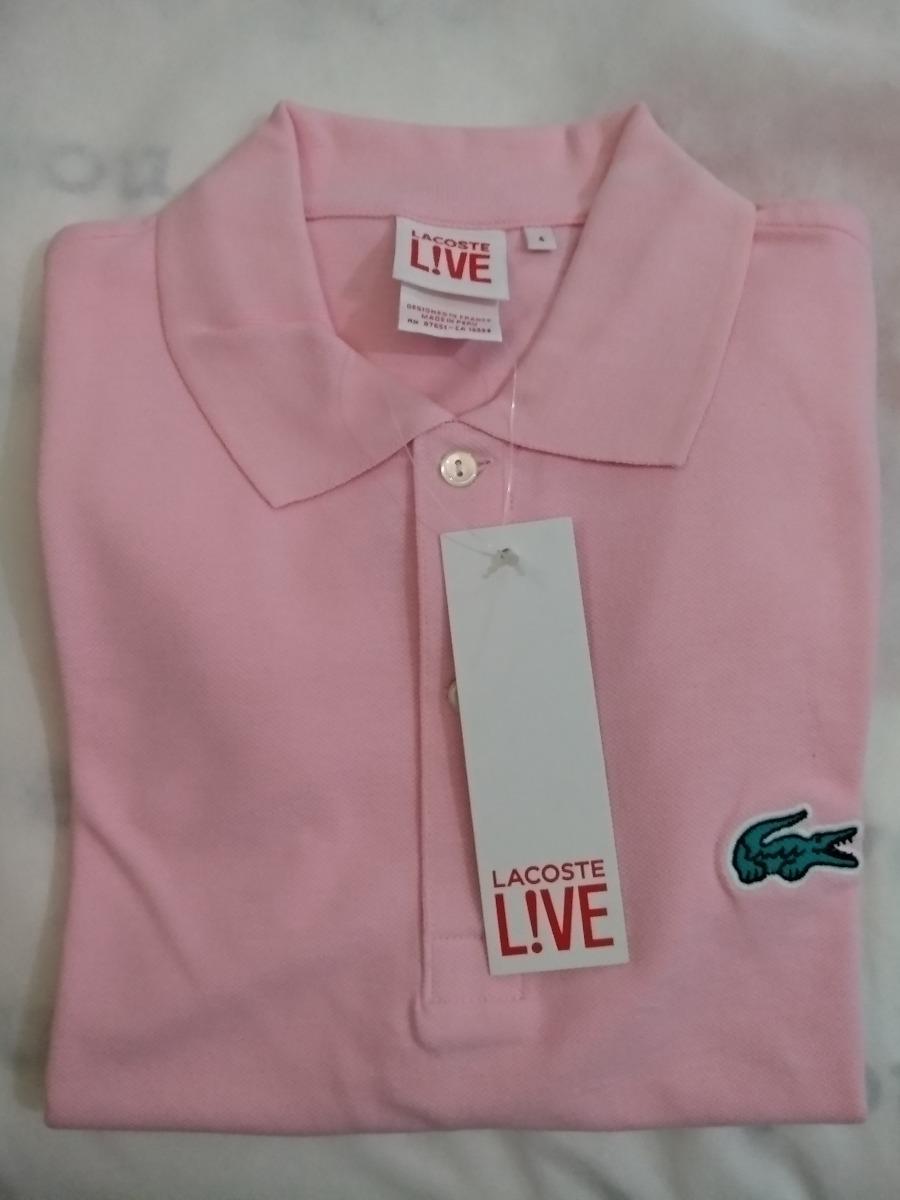Camisa Polo Lacoste Live Original Made Frete Grátis - R  99,90 em ... fb11df65a3