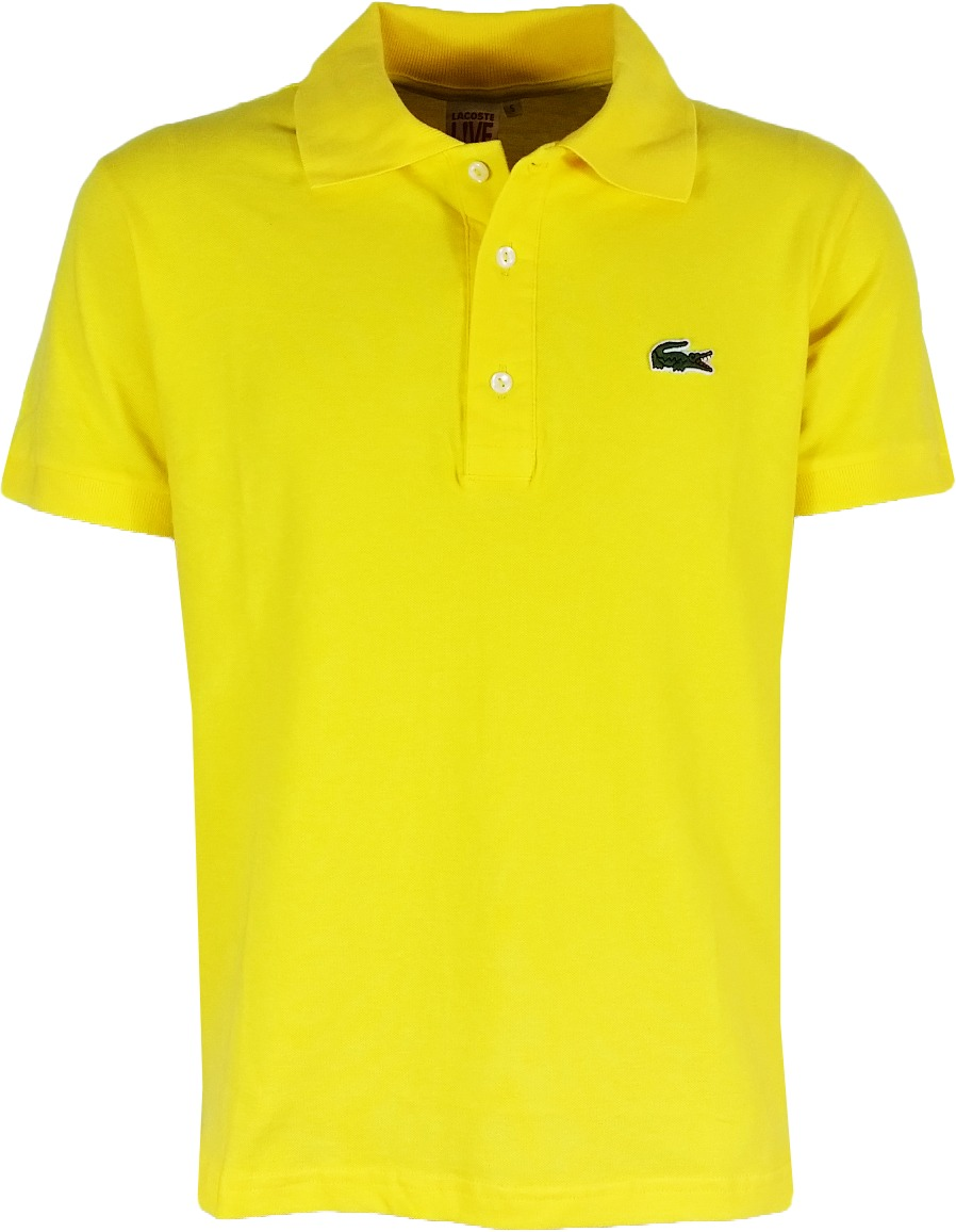 camisa polo lacoste masculina amarela 3 botões pronta entreg. Carregando  zoom. ac4f5fa483