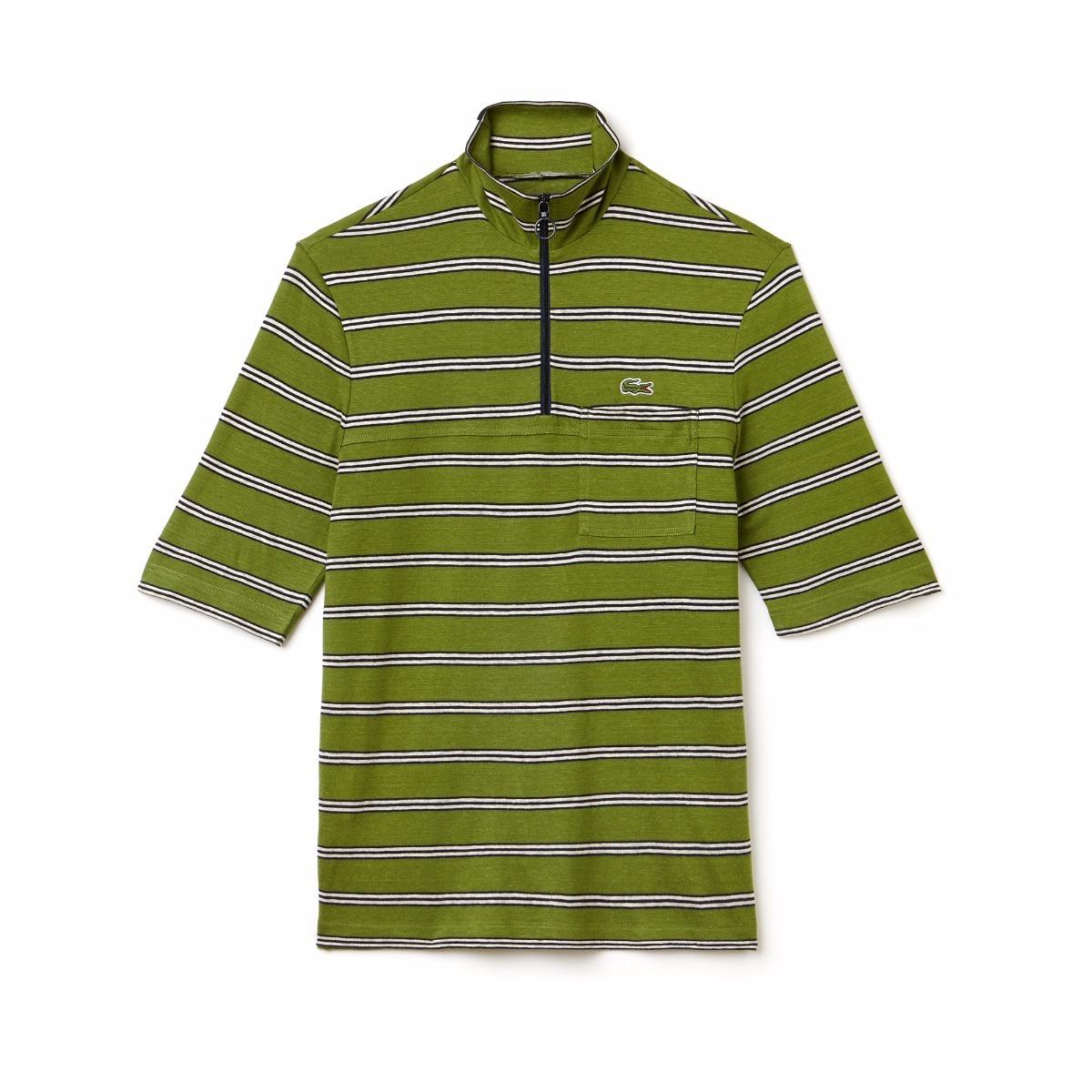 b89fd3f9dc652 camisa polo lacoste masculina com fecho de ziper slim fit. Carregando zoom.