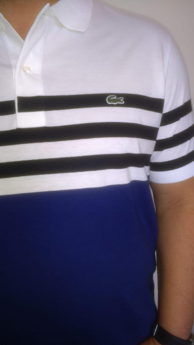 75c38800a4f camisa polo lacoste masculina listrada regular fit. Carregando zoom.