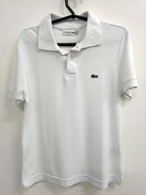 d5c443178b Camisa Polo Lacostes Branca Original - Calçados