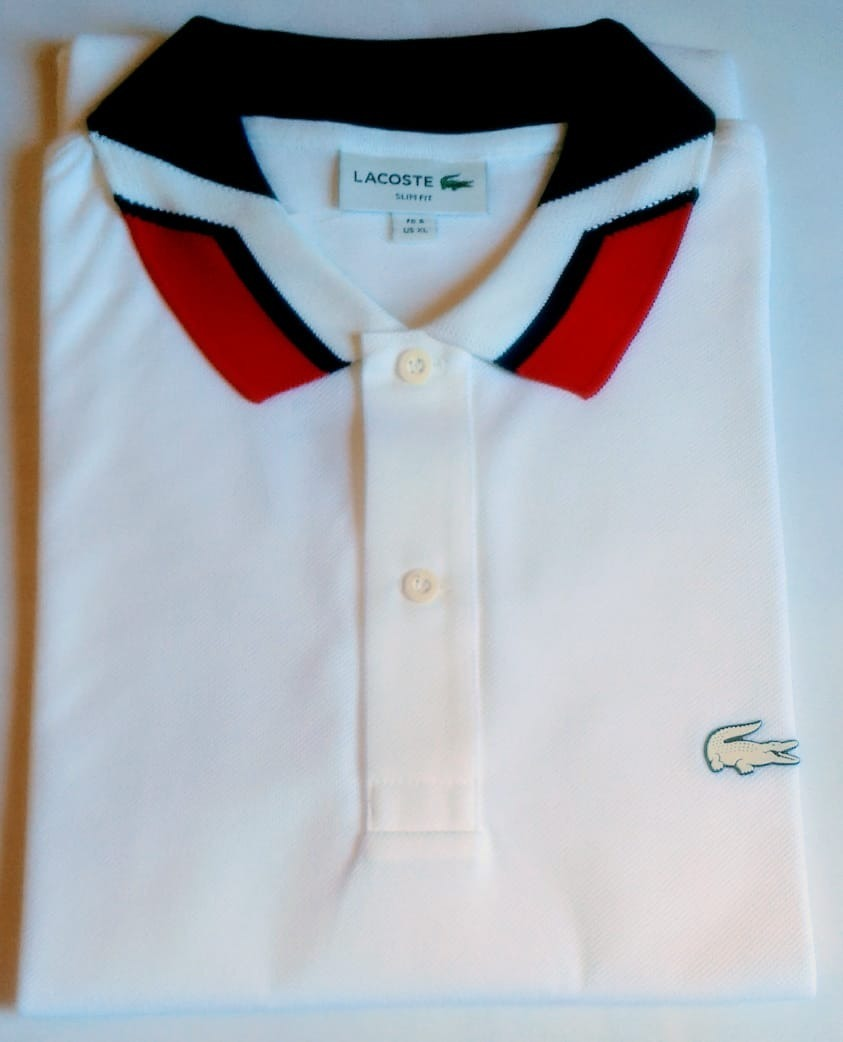 02f3e8f62d066 camisa polo lacoste masculina slim fit croco de borracha. Carregando zoom.