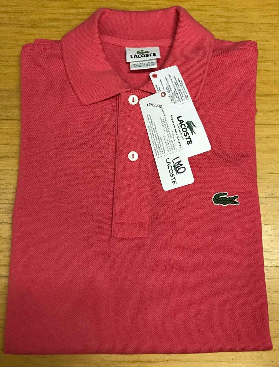 05d5b24c5a8db camisa polo lacoste - original. Carregando zoom.