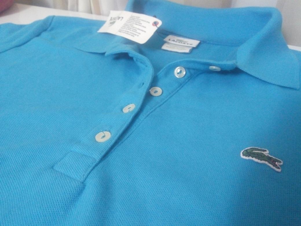 d54258d2a150d Camisa Polo Lacoste Original Feminina - R  159,00 em Mercado Livre