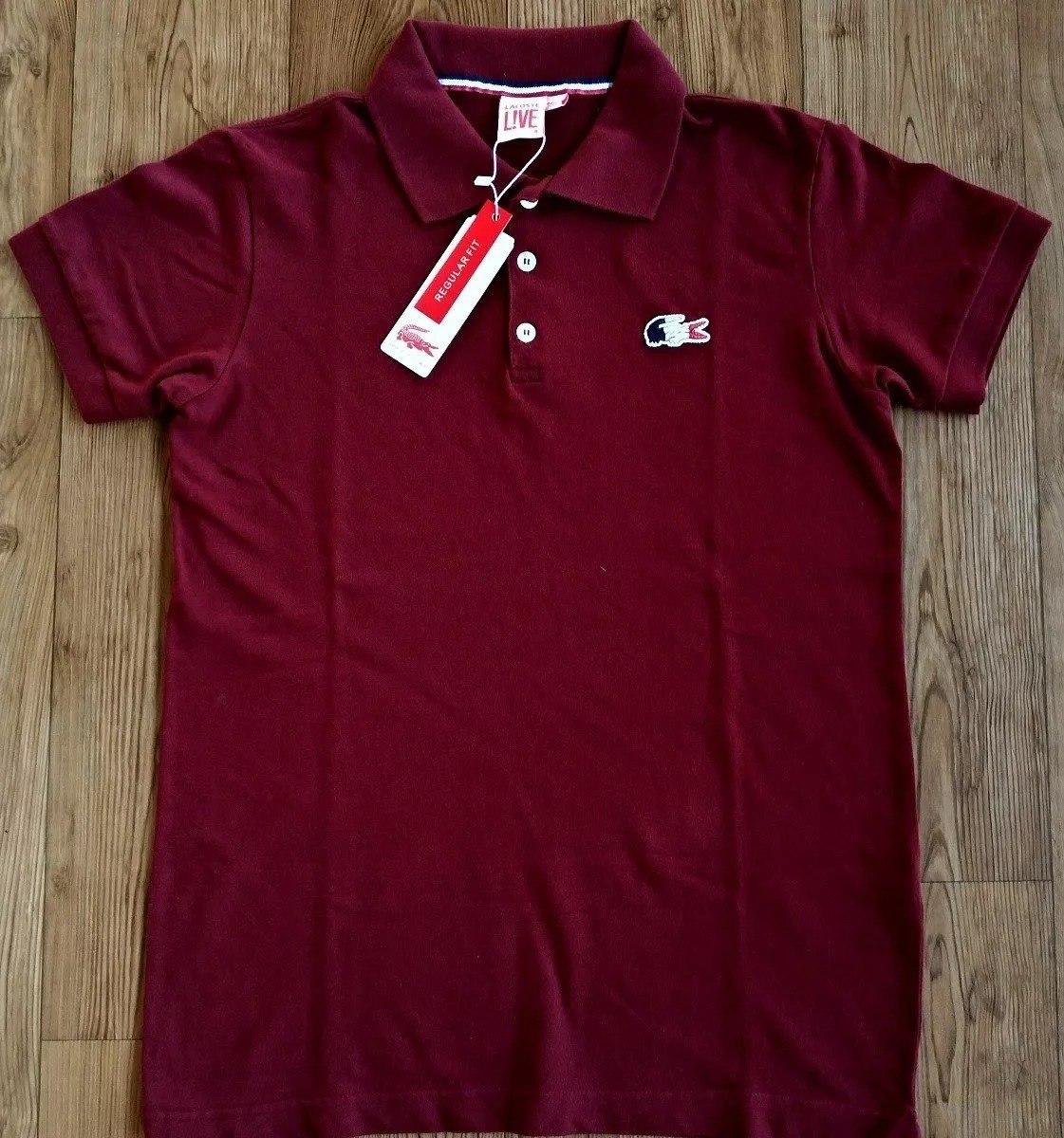 camisa polo lacoste original importada do peru 4 unidades. Carregando zoom. 431e470c75