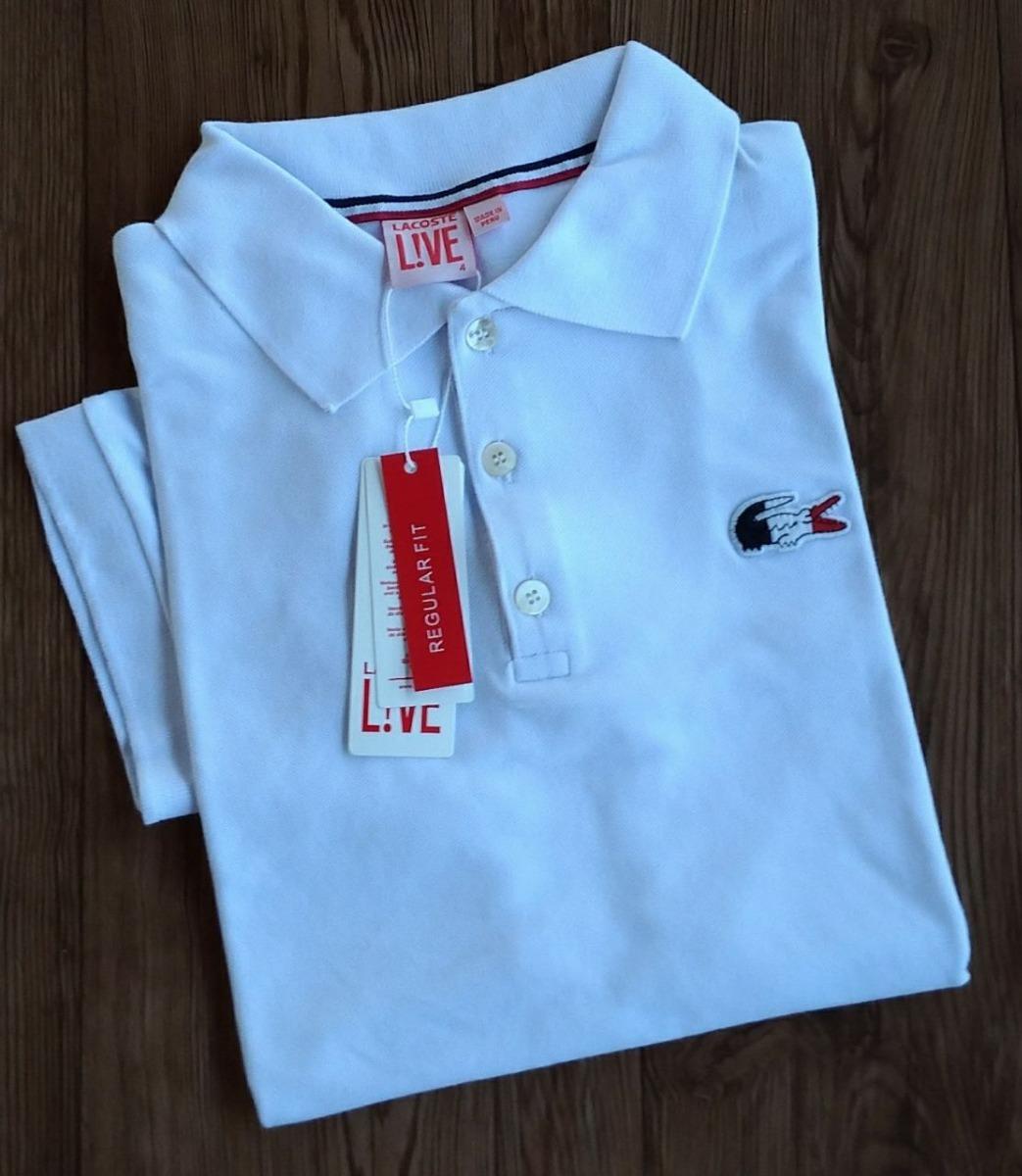 camisa polo lacoste original importada do peru 6 unidades. Carregando zoom. cc1770aaf9
