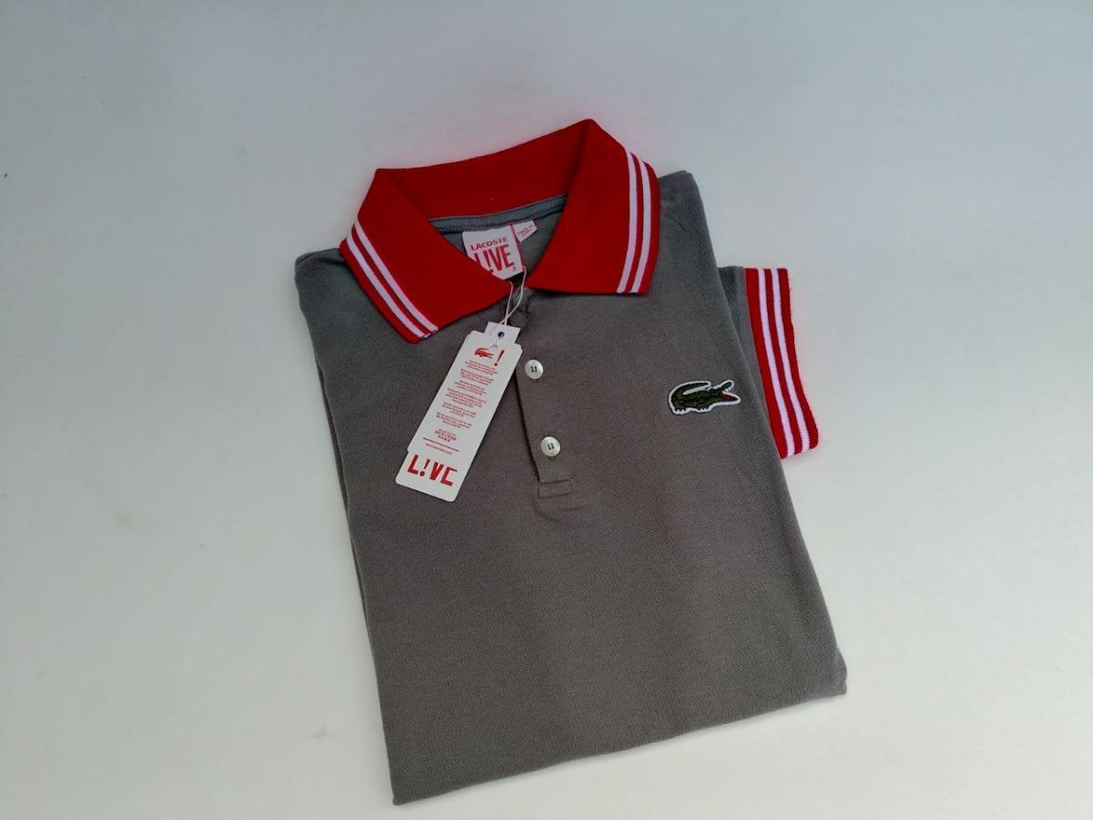 ... camisa polo lacoste original importada do peru 6 unidades. Carregando  zoom. 73a409f064